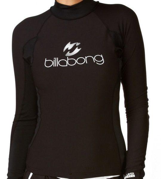 Billabong Womens Thermal Rash Vest Long Sleeve